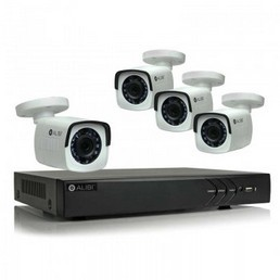 4 Camera IP NVR System- Alibi - sys3004hb