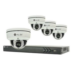 4 Channel IP Security Camera System- Alibi - sys4413ipd_1